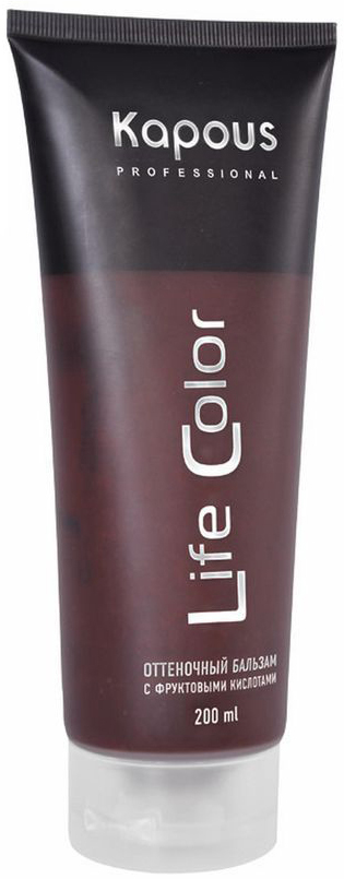 Kapous Бальзам оттеночный для волос Life Color Медный 200 мл, Kapous Professional