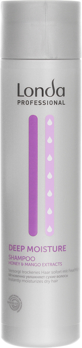 Шампунь Londa Deep Moisure, увлажняющий, 250 мл londa professional шампунь deep moisture увлажняющий 250 мл