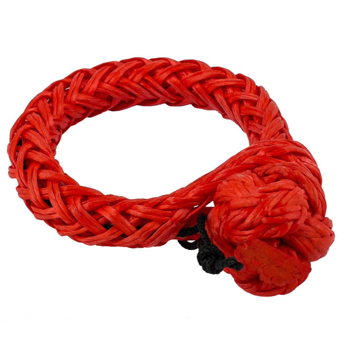 Софт-шакл PRO-4x4, цвет: красный, диаметр 10 ммPRO-SHS-000010Софт-шакл изготовлен из синтетического троса и предназначен для крепления строп к проушинам автомобиля, а также соединению между собой тросов, удлинителей и т.п.Преимущества софт шакла:Вес.Травмобезопасность при использовании в отношении людей и кузовных деталей.Отсутствие деталей и как следствие невозможность их потери.Возможность использования с проушинами сложной формы или малого размера.Прост в использовании, не закусывает при рывке и не требует наличия физической силы или инструмента.Не ржавеет.Технические характеристики:Материал - синтетический трос Dyneema 10 мм.Вес - 65 г.Максимальная нагрузка - 7900 кг.Диапазон рабочих температур от -35° С до +55°С.Длина - 410 мм.Диаметр кольца - 85 мм.