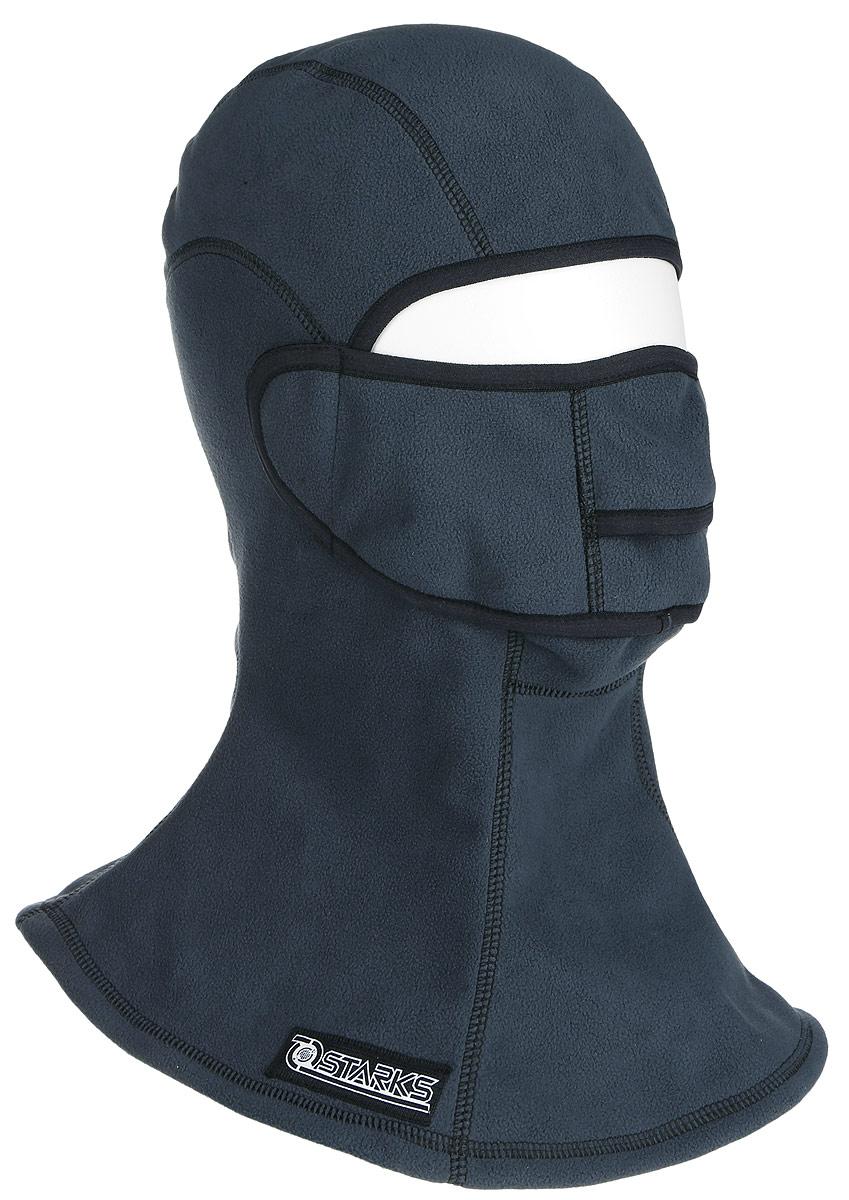 Подшлемник Starks Fleece Collar Open, с защитой шеи, цвет: серый. Размер L/XLЛЦ0032_Серый_LПодшлемник Starks Fleece Collar Open предназначен для использования в условиях экстремального холода. Съемная лицевая часть позволяет легко открывать лицо. Подшлемник выполнен из высококачественного полиэстера. Изделие обеспечивает полную защиту лица и шеи от проницания влаги, холода, пыли. Снаружи и внутри флисовый ворс, который обеспечивает терморегуляцию, сохранение тепла, отведение влаги от лица к мембране и последующее выведение наружу. Защитная дышащая мембрана работает в обе стороны - изнутри сохраняет тепло, выводит влагу.Высота подшлемника: 45 см.Диаметр основания: 40 см.