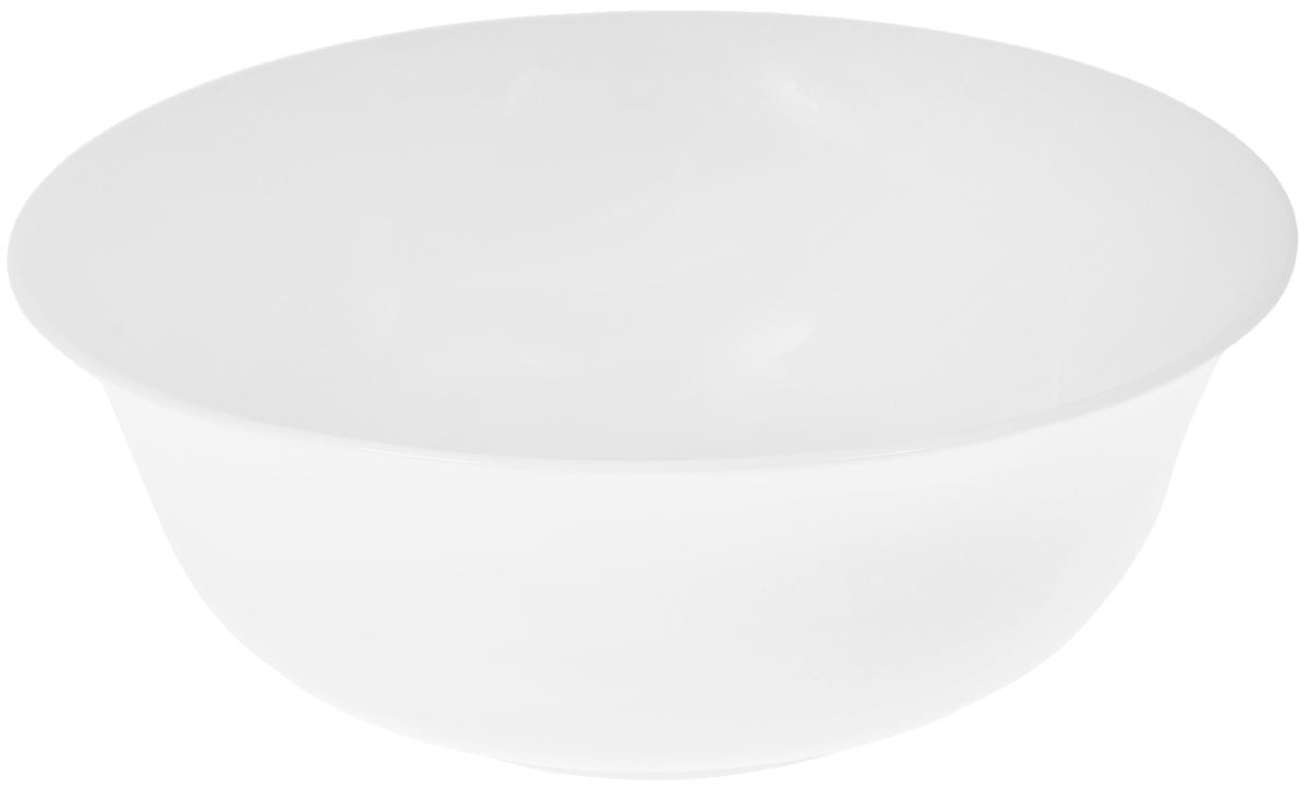 Салатник Wilmax, 1,6 лWL-992005 / AСалатник Wilmax, изготовленный из высококачественного фарфора с глазурованным покрытием, прекрасно подойдет для подачи различных блюд: закусок, салатов или фруктов. Такой салатник украсит ваш праздничный или обеденный стол, а оригинальный дизайн придется по вкусу и ценителям классики, и тем, кто предпочитает утонченность и изысканность.Можно мыть в посудомоечной машине и использовать в микроволновой печи.Диаметр салатника по верхнему краю: 21,5 см.Диаметр основания: 10 см.Высота стенки: 8 см.