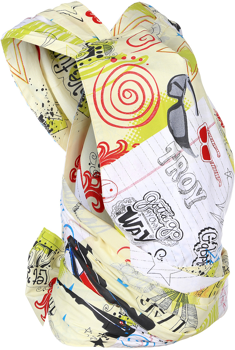Чудо-Чадо Май-слинг Детство цвет белый желтый красный