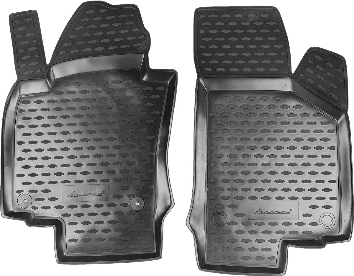 Коврики в салон автомобиля Novline-Autofamily, для Skoda Octavia II 03/2008->, 2 штNLC.45.03.210kfКоврики в салон Novline-Autofamily не только улучшат внешний вид салона вашего автомобиля, но и надежно уберегут его от пыли, грязи и сырости, а значит, защитят кузов от коррозии. Полиуретановые коврики для автомобиля гладкие, приятные и не пропускают влагу. Автомобильные коврики в салон учитывают все особенности каждой модели и полностью повторяют контуры пола. Благодаря этому их не нужно будет подгибать или обрезать. И самое главное - они не будут мешать педалям.Полиуретановые автомобильные коврики для салона произведены из высококачественного материала, который держит форму и не пачкает обувь. К тому же, этот материал очень прочный (его, к примеру, не получится проткнуть каблуком).Некоторые автоковрики становятся источником неприятного запаха в автомобиле. С полиуретановыми ковриками Novline-Autofamily вы можете этого не бояться.Коврики для автомобилей надежно крепятся на полу и не скользят, что очень важно во время движения, особенно для водителя.Коврики из полиуретана надежно удерживают грязь и влагу, при этом всегда выглядят довольно опрятно. И чистятся они очень просто: как при помощи автомобильного пылесоса, так и различными моющими средствами.
