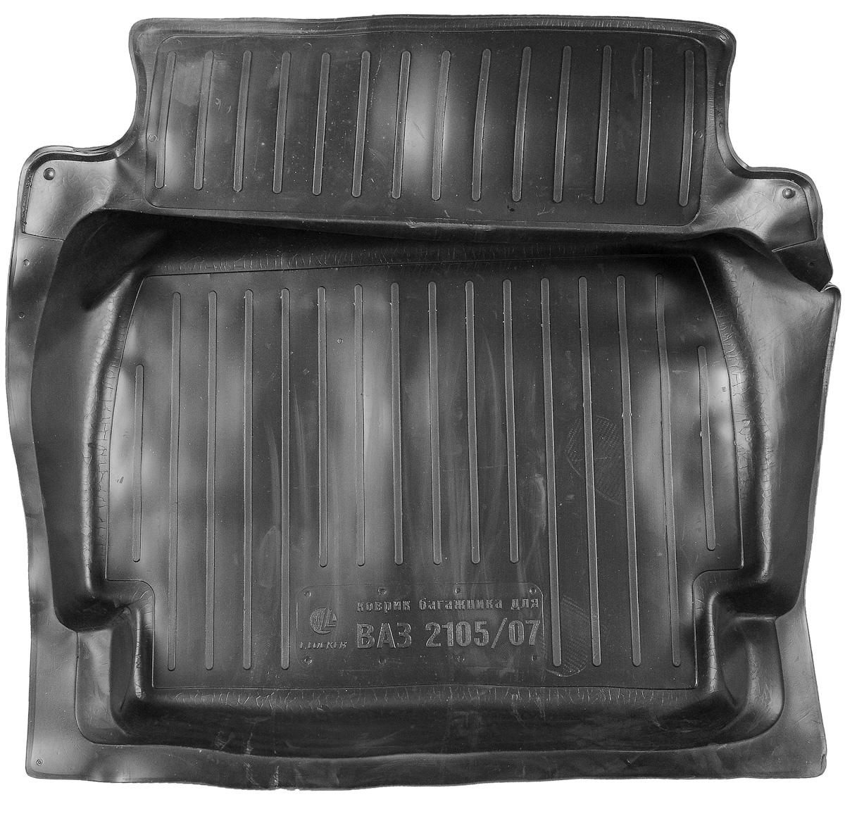 Коврик в багажник L.Locker, для ВАЗ 2105/2107 авто ваз 2107 обухов