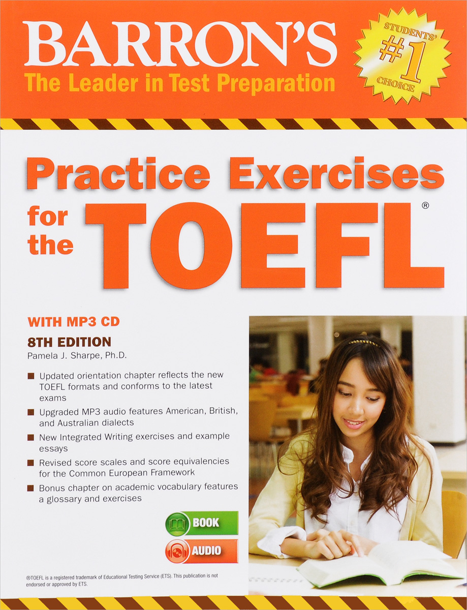 Barron's Practice Exercises for the TOEFL: Test of English as a Foreign Language (+ CD) barron s toefl ibt 2 cd rom