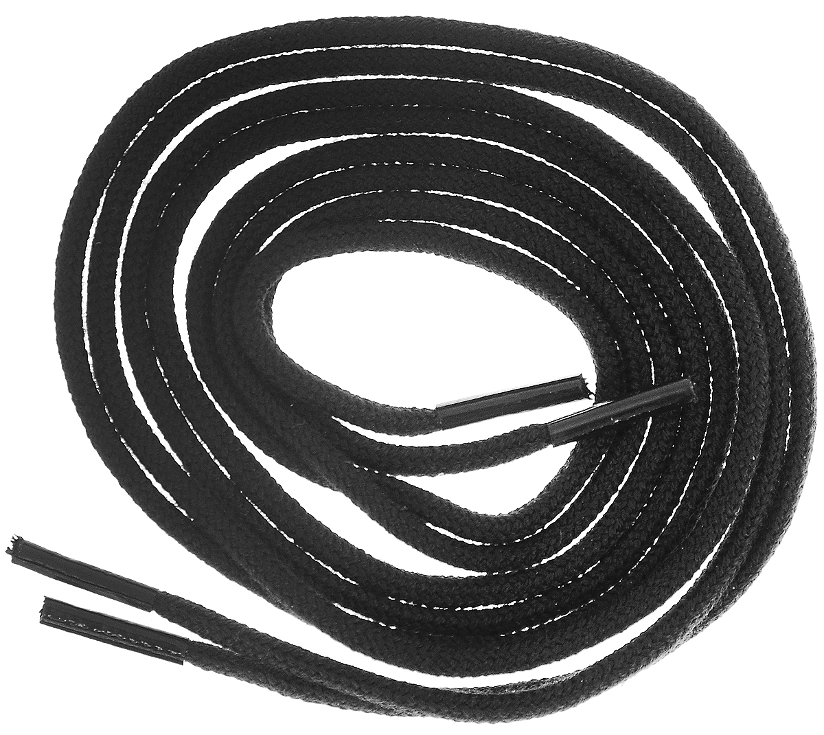 Шнурки тонкие Collonil Rund, цвет: черный, длина 60 см4302 000Тонкие шнурки Collonil Rund изготовлены из 75% хлопка и 25% полиамида. Крепкие и удобные шнурки являются неотъемлемым аксессуаром и подходят для ношения модельной или предназначенной для отдыха и туризма обуви. Подходят для обуви с восемью отверстиями.