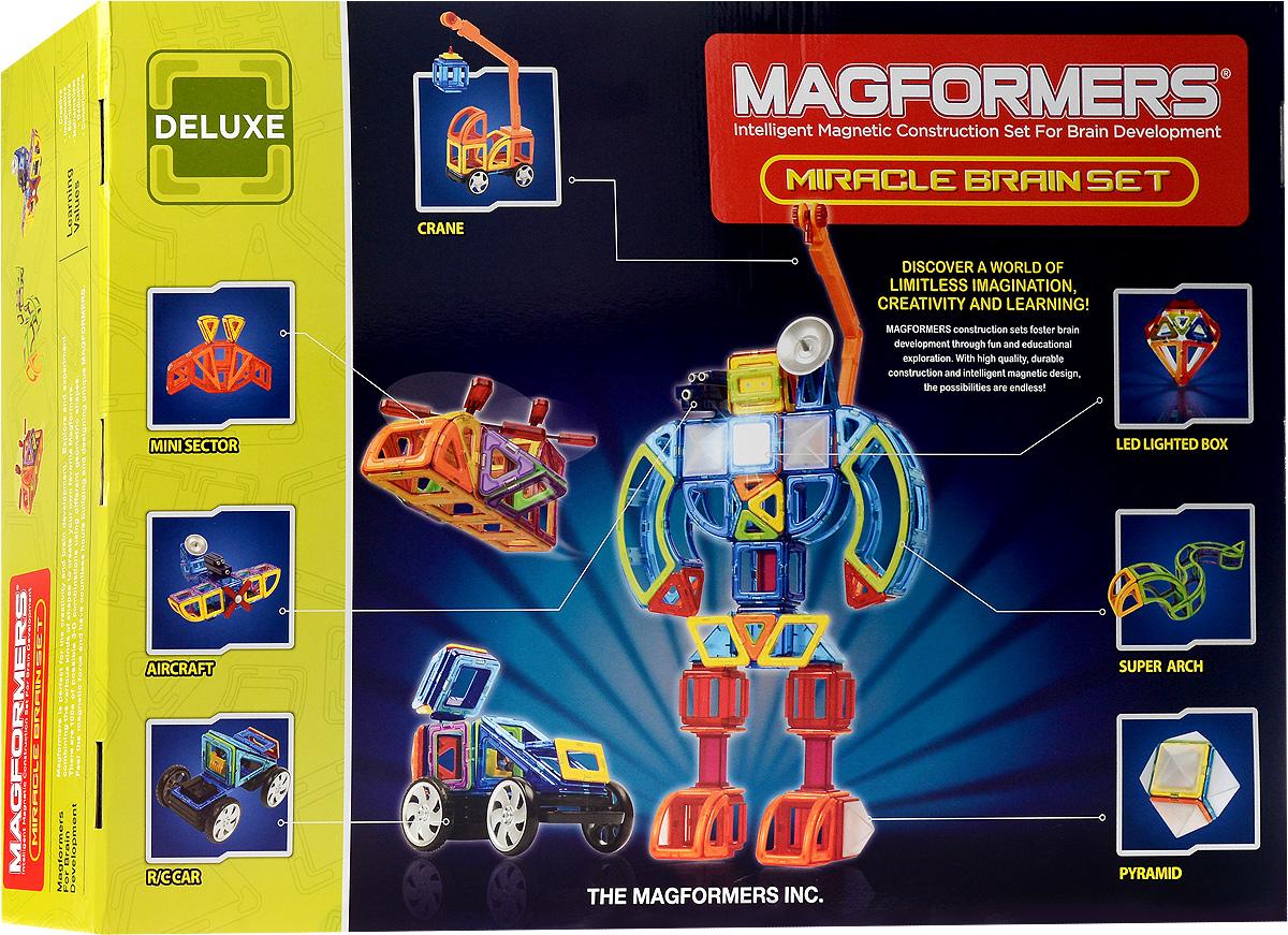 Magformers Магнитный конструктор Miracle Brain Set einar leidland brain computer interface