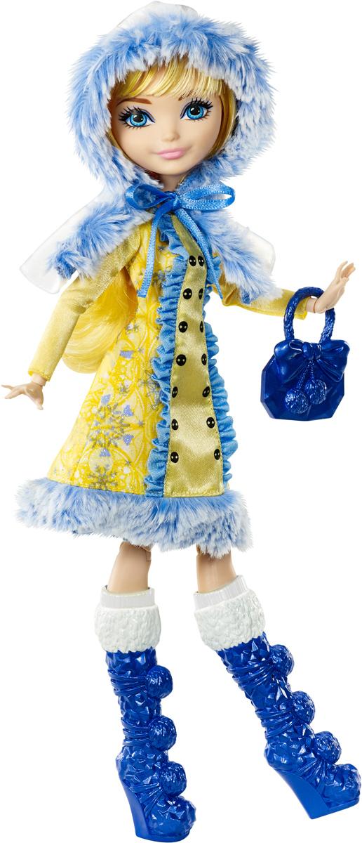цена Ever After High Кукла Заколдованная зима Блонди Локс онлайн в 2017 году