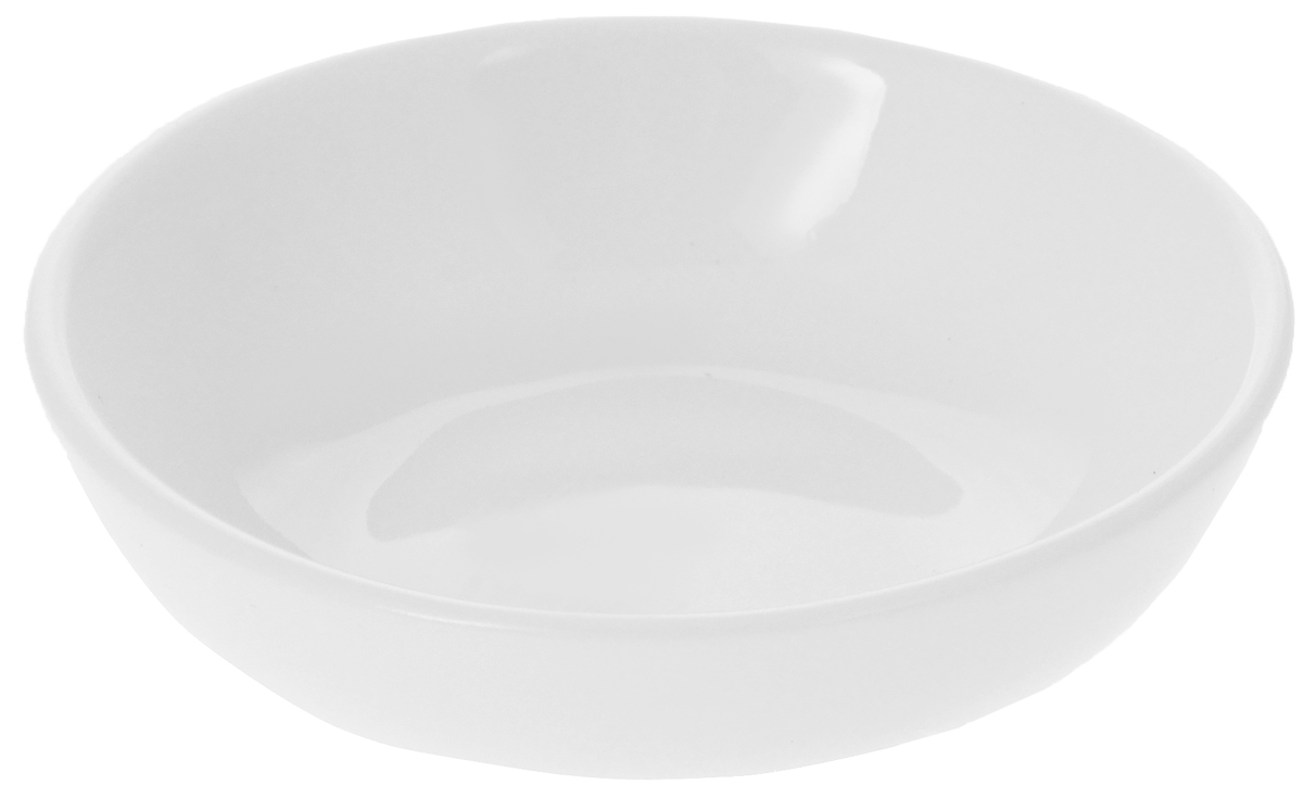 Соусник Wilmax, 45 млWL-996045 / AЭлегантный соусник Wilmax изготовлен из высококачественного фарфора.Приятный глазу дизайн и отменное качество соусника будут долго радовать вас.Соусник Wilmax украсит сервировку вашего стола и подчеркнет прекрасный вкус хозяина.Размер соусника (по верхнему краю): 7 х 7 см.Высота соусника: 2 см.
