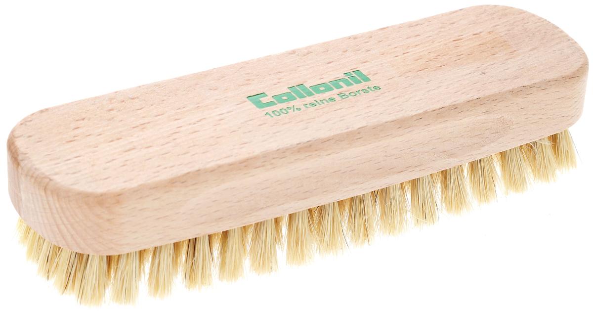 Щетка для одежды Collonil Glanzburste, 15,5 х 4,5 х 3,5 см7163 010Деревянная щетка Collonil Glanzburste изготовлена из натуральных материалов.Благодаря густому ворсу изделие быстро и эффективно очищает одежду и обувь от пыли и грязи,а также служит для придания блеска обуви. Имеет жесткую щетину и специальную форму,благодаря которой удобно ложится в руку. Размер щетки: 15,5 х 4,5 х 3,5 см.