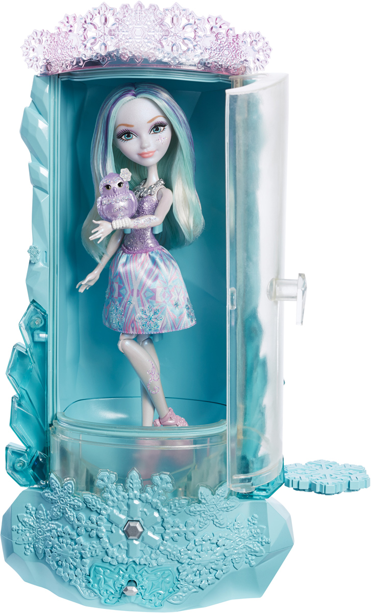 Ever After High Игровой набор с куклой Блестящий вихрь игровой набор mattel ever after high блестящий вихрь из серии заколдованная зима кукла кристал винтер