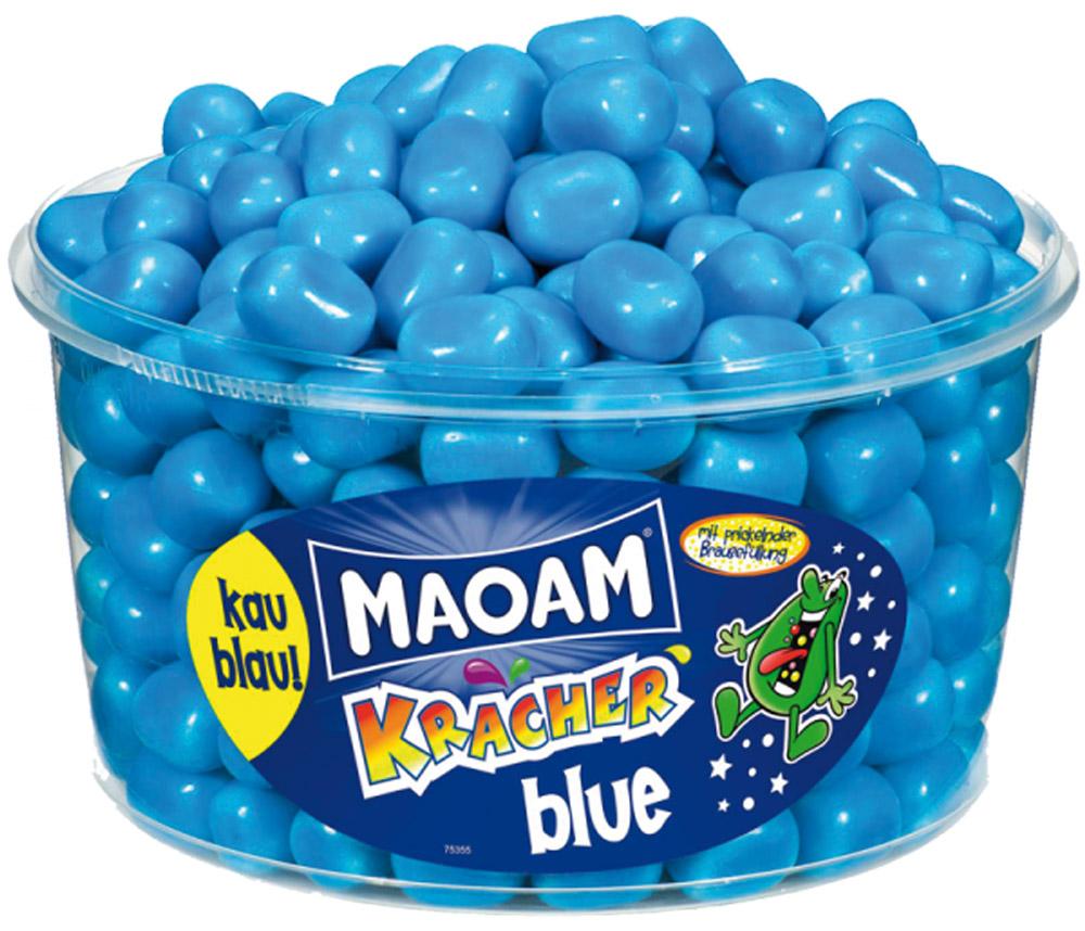 Maoam Kracher Blue камушки, 1,2 кг57540Вот вам вопрос: Как вы думаете, каков на вкус синий крахер?Попробуйте и узнаете ответ!