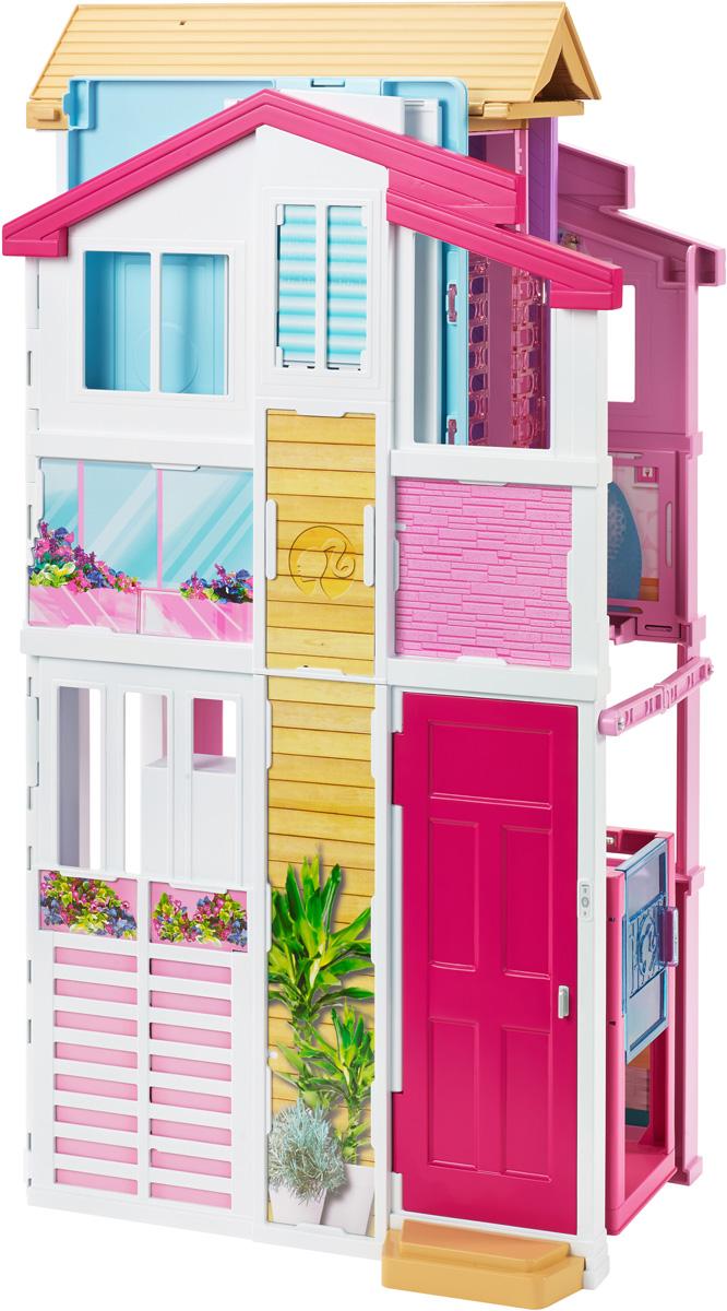 Barbie Дом для кукол Городской дом Малибу аксессуары для кукол barbie barbie мини наборы для декора