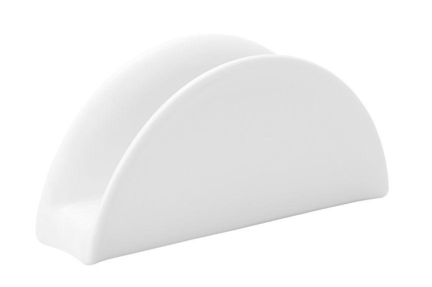 Салфетница Ariane Прайм, APRARN94014APRARN94014Салфетница Ariane Прайм - изготовлена из высококачественного фарфора с использованием инновационных технологий, позволяющих получить продукт, отличающийся особой прочностью и долговечностью.Фарфоровая посуда абсолютно безопасна для здоровья, так как она не выделяет вредных веществ при нагревании. Также посуда не впитывает посторонних запахов и легко моется при помощи обычных чистящих средств.Элегантный и утонченный внешний вид позволит фарфоровой посуде Ariane стать изысканным украшением любого стола, что делает ее незаменимой для заведений общественного питания: ресторанов, баров, кафе.
