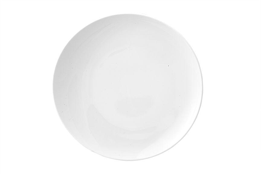 """Тарелка Ariane """"Коуп"""", изготовленная из высококачественного фарфора, имеет классическую круглую форму. Такая тарелка отлично подойдет в  качестве блюда для закусок и нарезок, а также для подачи различных десертов. Изделие прекрасно впишется в интерьер вашей кухни и станет  достойным дополнением к кухонному инвентарю. Тарелка Ariane """"Коуп"""" подчеркнет прекрасный вкус хозяйки и станет отличным подарком.  Можно мыть в посудомоечной машине и использовать в микроволновой печи. Диаметр тарелки: 29 см."""