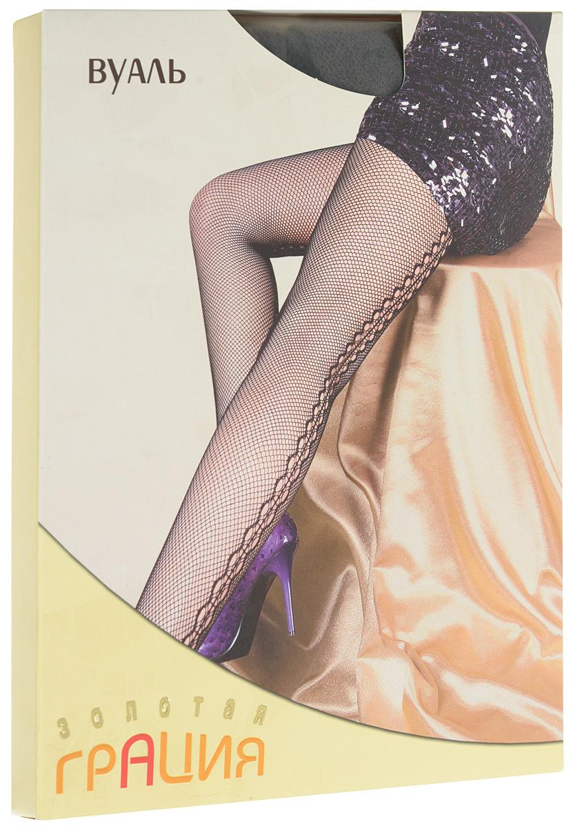 Колготки женские Золотая Грация Вуаль, цвет: кофе. Размер 1/2 (40/42)
