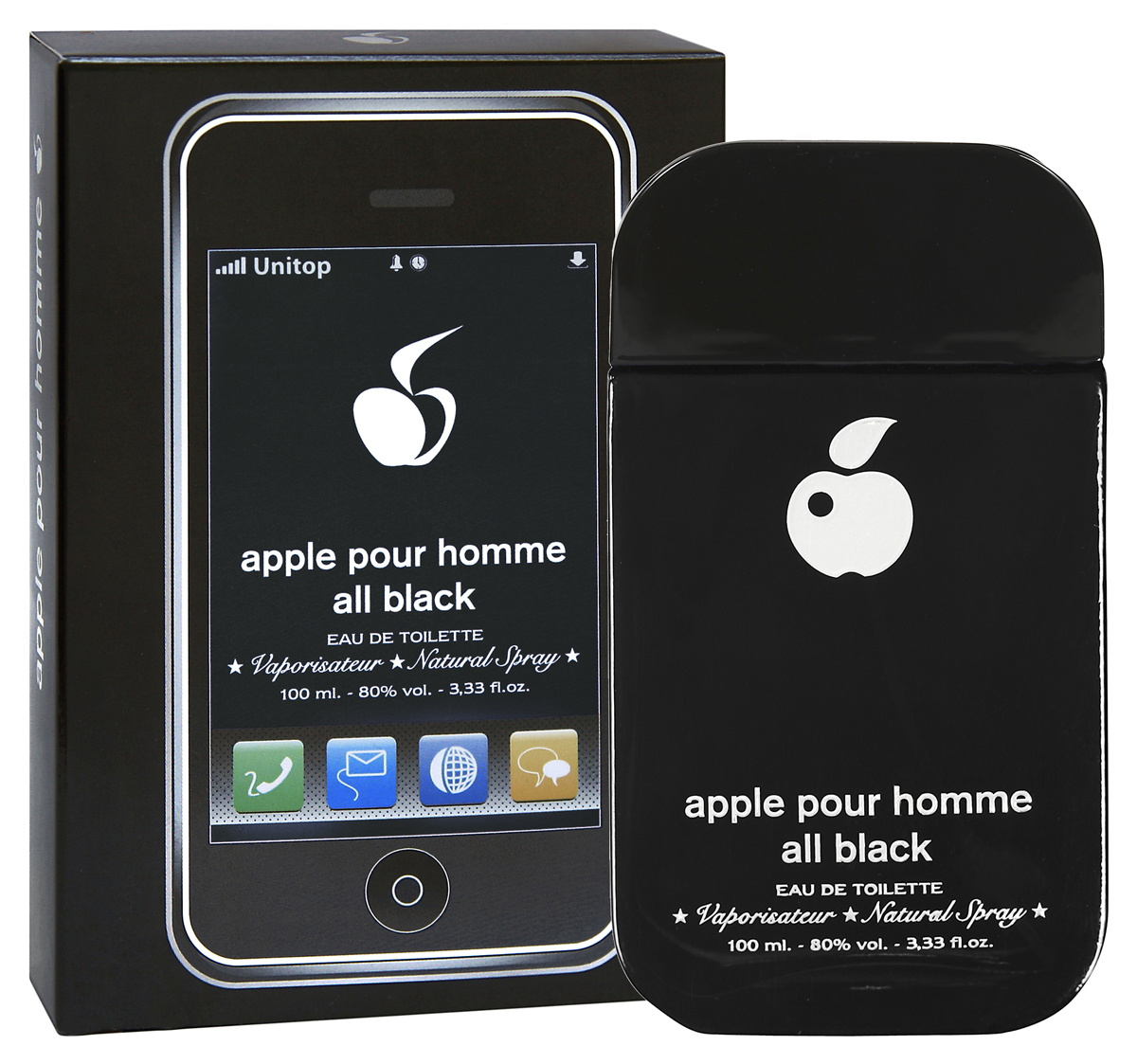 Apple Parfums Homme All Black. Туалетная вода, 100 мл туалетная вода apple parfums эппл пур хомме джаст силвер apple homme just silver