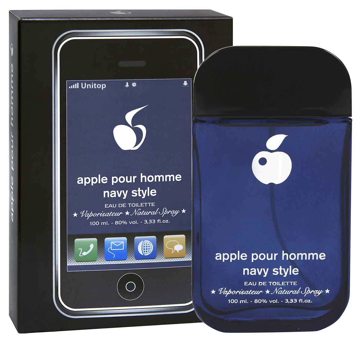 Apple Parfums Homme Navy Style. Туалетная вода, 100 мл туалетная вода apple