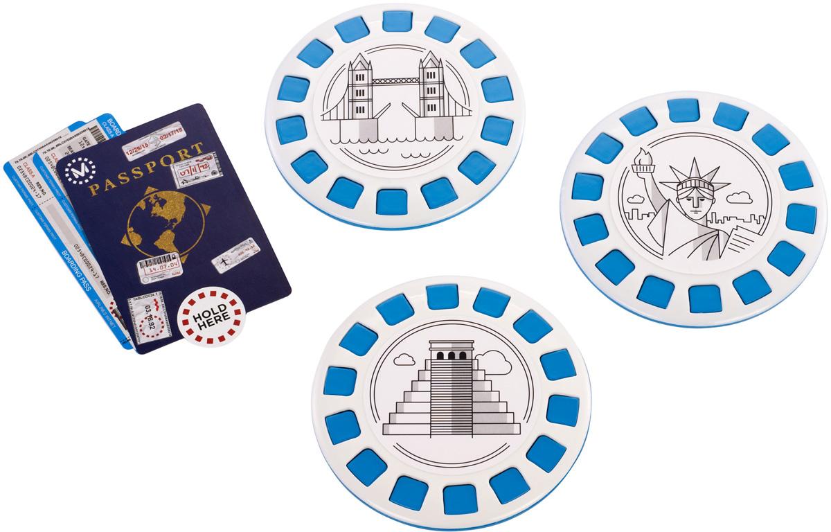 View-Master Интерактивная игрушка Достопримечательности виртуальные очки mattel очки виртуальные view master