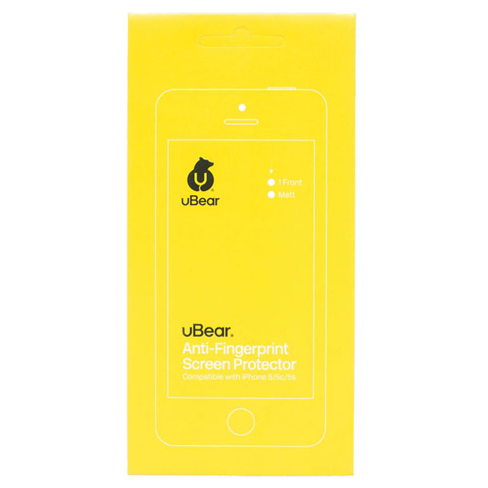 uBear защитная пленка для iPhone 5/5s, матовая цена