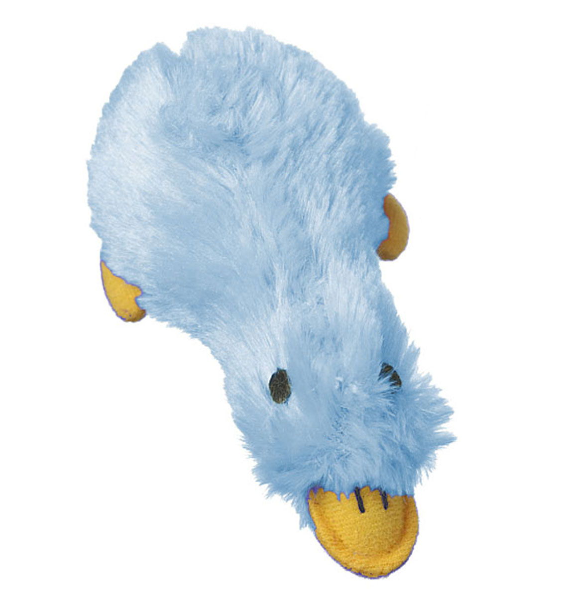 Игрушка для животных Multipet Утка, с пищалкой, цвет: голубой12-37706Игрушка Multipet Утка, изготовленная из искусственного меха, предназначена для собак и кошек различных пород. Игрушка при надавливании или захвате пастью пищит. Такая игрушка порадует вашего любимца, а вам доставит массу приятных эмоций, ведь наблюдать за игрой всегда интересно и приятно.