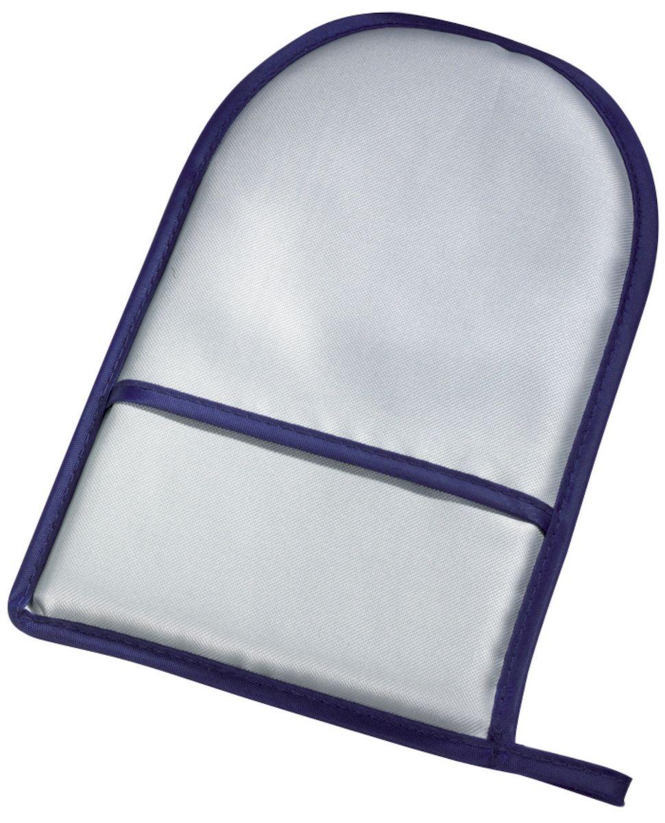 Перчатка для глажки Leifheit, 24 х 15 см72418Перчатка для глажки Leifheit, выполненная из 100 % хлопка с металлизированная поверхностью, обеспечивает быструю и безопасную глажку в труднодоступных местах. Металлизированная поверхность эффективно отражает тепло, а натуральные материалы не выделяют вредных веществ.Размер перчатки: 24 х 15 см.