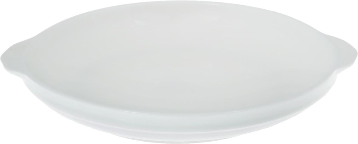 Форма для запекания Wilmax, порционная, диаметр 18 смWL-997002 / AФорма для запекания Wilmax выполнена из белого фарфора высокого качества с глазурованным покрытием и оснащена небольшими ручками.Фарфор от Wilmax изготовлен по уникальному рецепту из сплава магния и алюминия, благодаря чему посуда обладает характерной белизной, прочностью и устойчивостью к сколами. Особый состав глазури обеспечивает гладкость и блеск поверхности изделия.Приятный глазу дизайн и отменное качество формы будут долго радовать вас. Можно мыть в посудомоечной машине и использовать в микроволновой печи. Форма пригодна для использования в духовых печах и выдерживает температуру до 300°С.Размер формы (без учета ручек): 18 х 18 х 3 см. Ширина формы (с учетом ручек): 20,7 см.