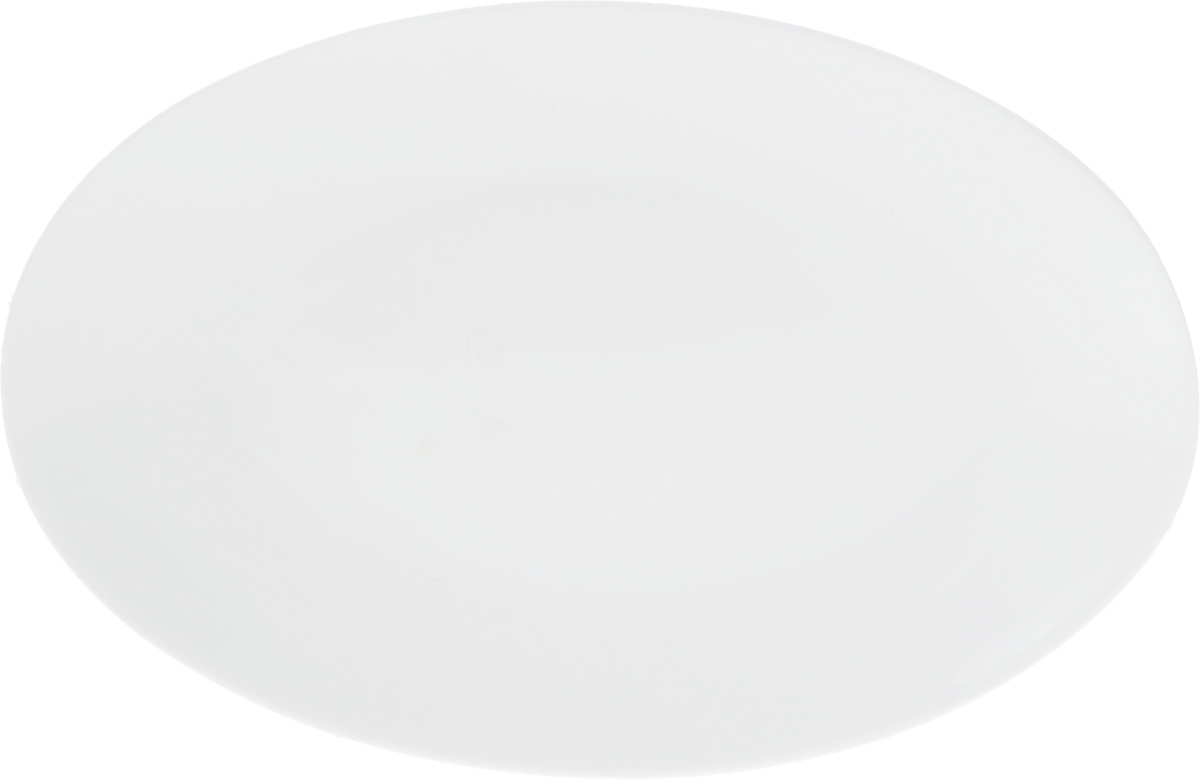 Блюдо Wilmax, 25,5 х 17 смWL-992021 / AОригинальное овальное блюдо Wilmax, изготовленное из фарфора с глазурованным покрытием, прекрасно подойдет для подачи нарезок, закусок и других блюд. Оно украсит ваш кухонный стол, а также станет замечательным подарком к любому празднику.Размер блюда: 25,5 х 17 см.