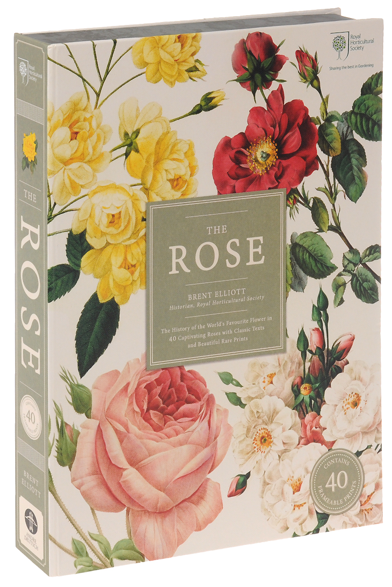 The Rose: The History of the World's Favourite Flower in 40 Captivating Roses with Classic Texts and Rare Beautiful Prints люстра на штанге preciosa brilliant 45 0704 006 07 00 00 01