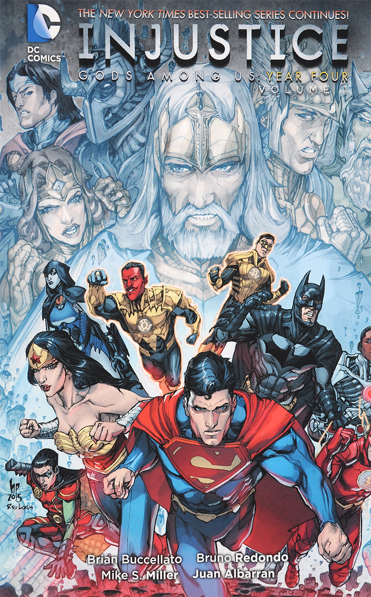 Injustice: Gods Among Us Year Four Volume 1 injustice gods among us year five vol 2