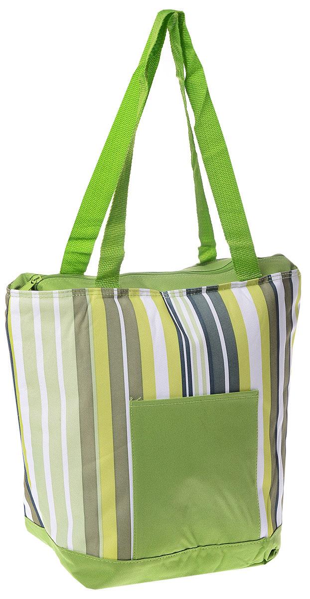 Термосумка Green Glade, цвет: салатовый, оливковый, белый, 20 л. P1120 термосумка green glade цвет зеленый 32 л p1632