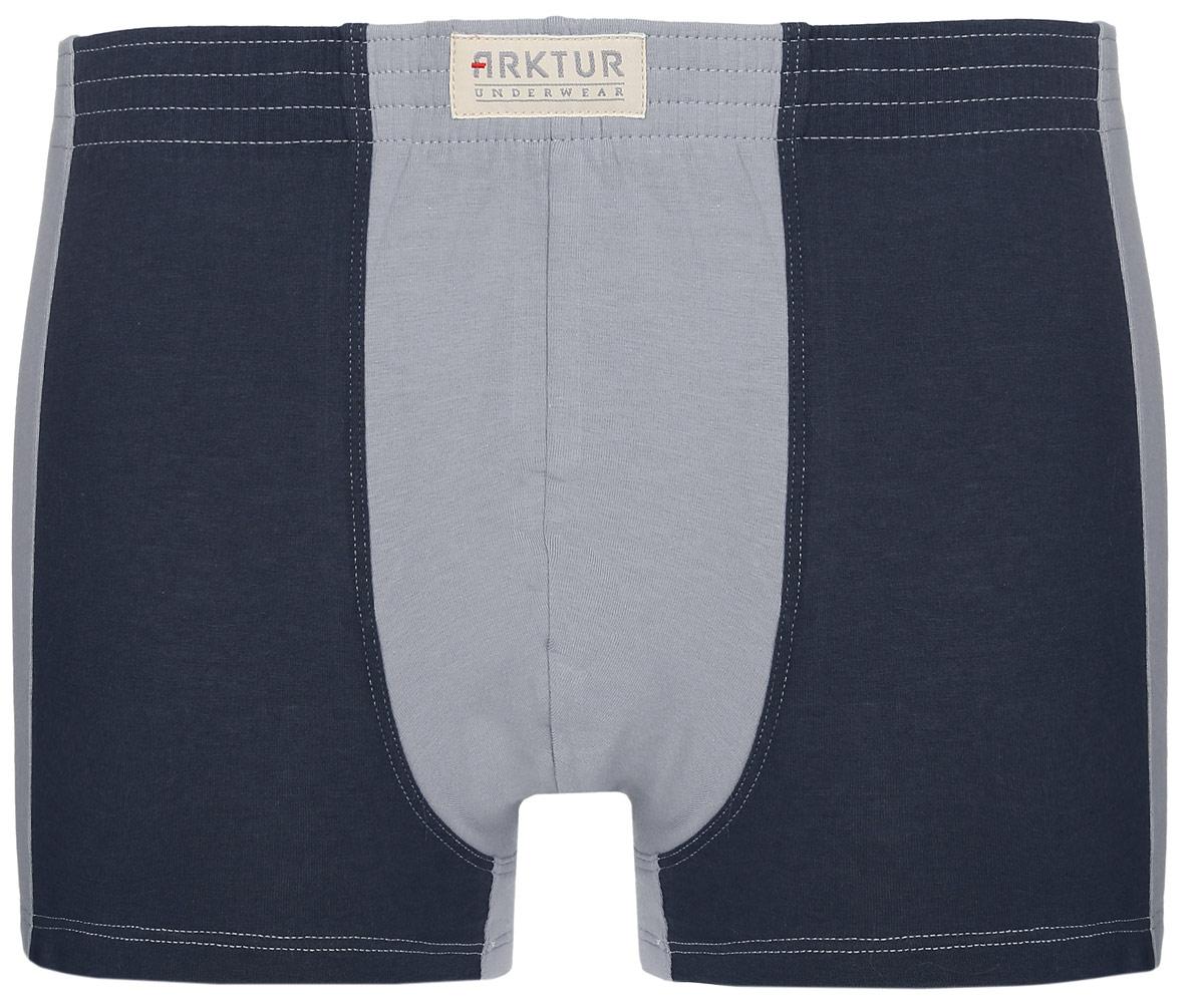 Трусы-боксеры мужские Arktur Toronto combi, цвет: светло-серый, темно-серый. Размер S (46)