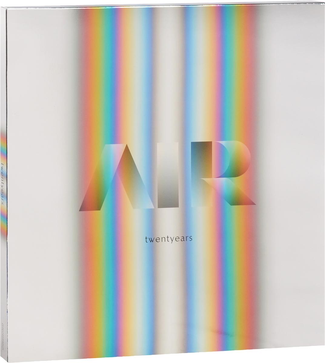 Air. Twentyears (2 LP + 3 CD)