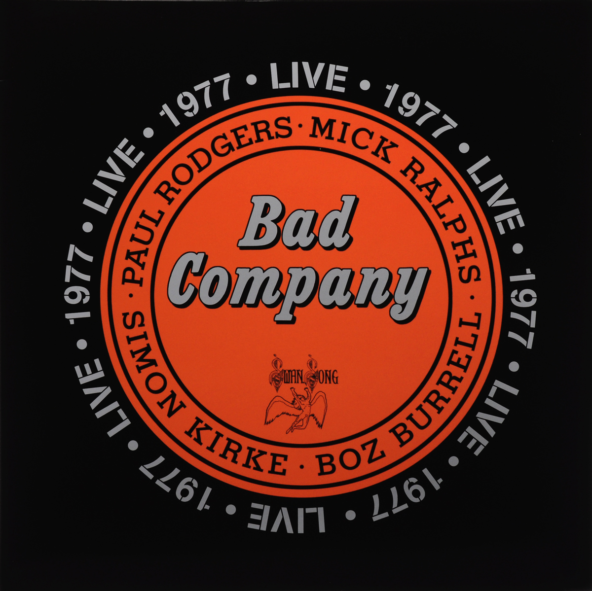 Bad Company Bad Company. Live 1977 (2 LP) bad company bad company rock n roll fantasy the very best of bad company 2 lp