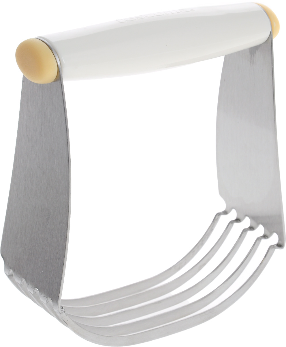 Мешалка для теста Tescoma Delicia630068Мешалка для теста Tescoma Delicia отлично подойдет для приготовления песочного и слоеного теста. Рабочая часть из 5 стальных лезвий позволяет быстро измельчать ингредиенты и делать тесто однородным. Удобная ручка выполнена из пластика. Можно мыть в посудомоечной машине.