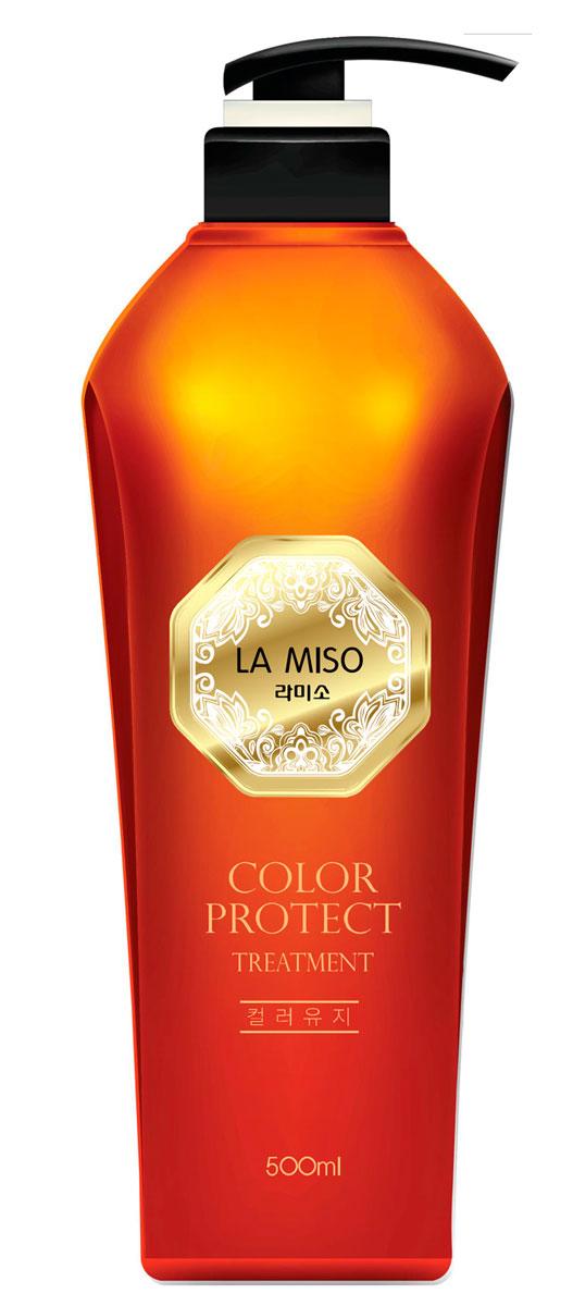 La Miso Кондиционер для сохранения цвета волос, Color Protect, 500 мл8809212591663В состав серии COLOR PROTECT входит экстракт аира тростникового, содержащий множество полезных для волос витаминов и минералов. Он помогает предотвратить выпадение, усиливает рост волос. Экстракт аира тростникового в составе средства придает эластичность и упругость поврежденным в результате окрашивания волосам и дарит им здоровый блеск.При регулярном применении кондиционер с экстрактом аира тростникового смягчает и разглаживает волосы. Средство способствует поддержанию интенсивности оттенка окрашенных волос. Гидролизованные шелк и кератин в составе кондиционера значительно улучшают структуру волос, восстанавливая и придавая им здоровый блеск и силу. Масло виноградных косточек интенсивно питает. Гидролизованный коллаген насыщает волосы влагой. В состав серии COLOR PROTECT входит экстракт аира тростникового, содержащий множество полезных для волос витаминов и минералов.
