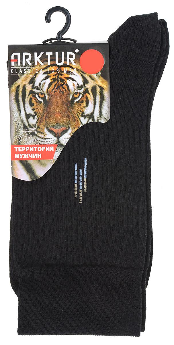 Купить Носки мужские Arktur, цвет: черный. J 008. Размер 43/45