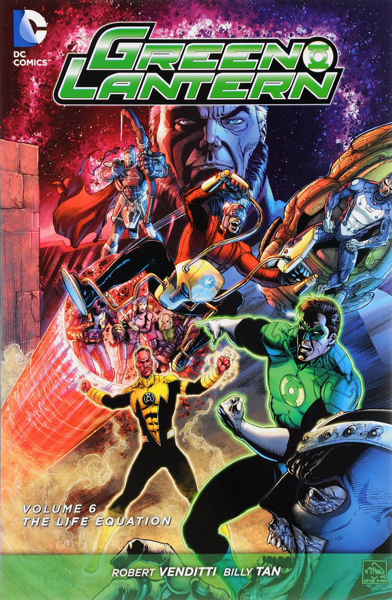 Green Lantern: Volume 6: The Life Equation