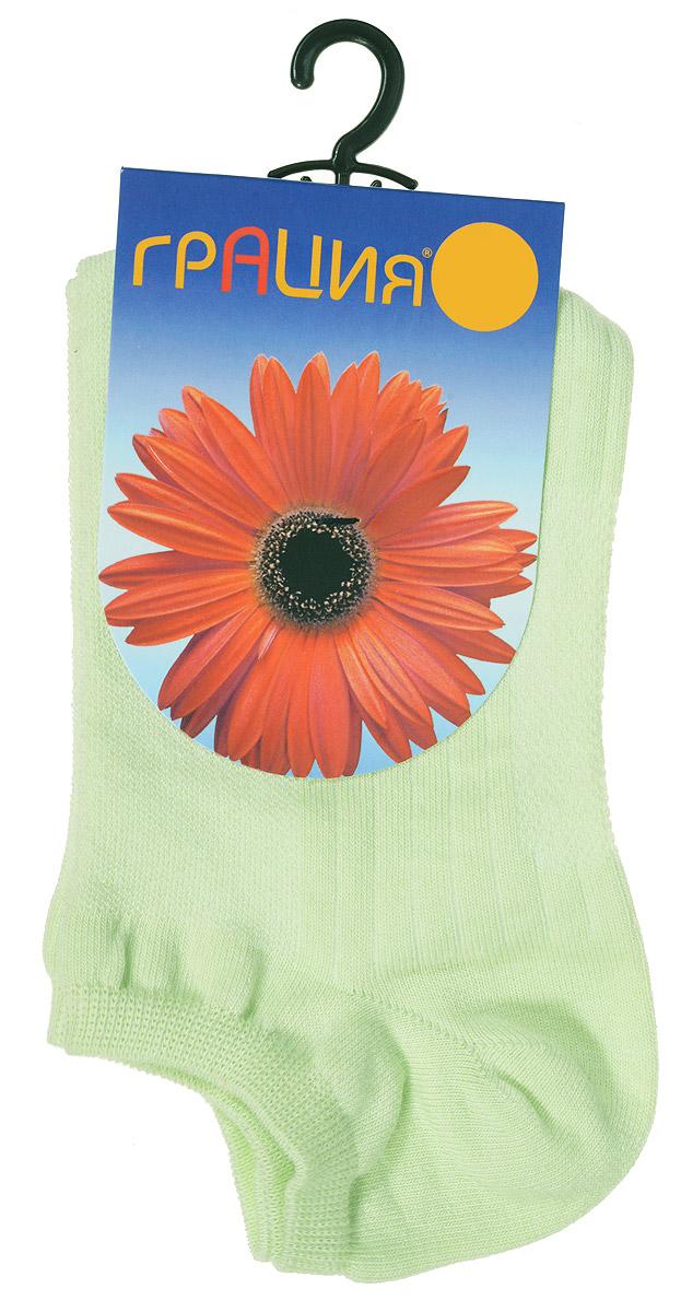 Носки женские Грация, цвет: светло-зеленый. М 1405. Размер 2 (38/40) носки женские грация цвет телесный м1059 размер 35 37