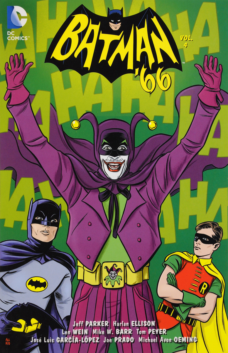 Batman '66: Volume 4 batman 66 meets the man from u n c l e