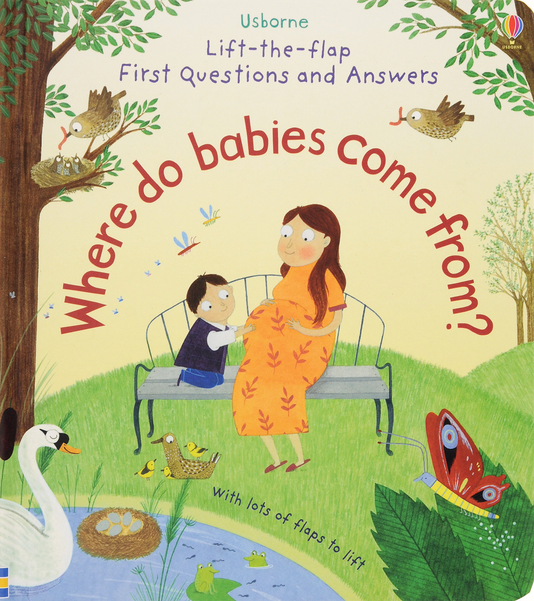 Lift-the-Flap First Questions and Answers: Where Do Babies Come from?