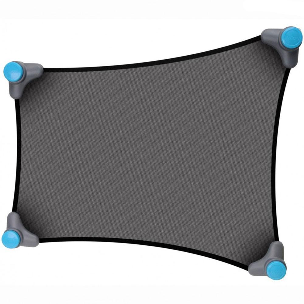 Munchkin Солнцезащитная шторка для автомобиля Stretch-to-Fit Sun Shade12030Солнцезащитная шторка для автомобиля Munchkin Stretch-to-Fit Sun Shade предназначена для защиты ребенка от прямых солнечных лучей во время поездок на автомобиле.Шторка представляет собой особое тонкое сетчатое полотно Opti-view, которое с помощью присосок легко крепится к окну автомобиля. Благодаря эластичности, шторка прекрасно подойдет для автомобильного окна практически любой формы и размера. Малыш теперь сможет спокойно вздремнуть во время путешествия или разглядывать интересные пейзажи за окном - яркие лучи солнца не будут его тревожить!