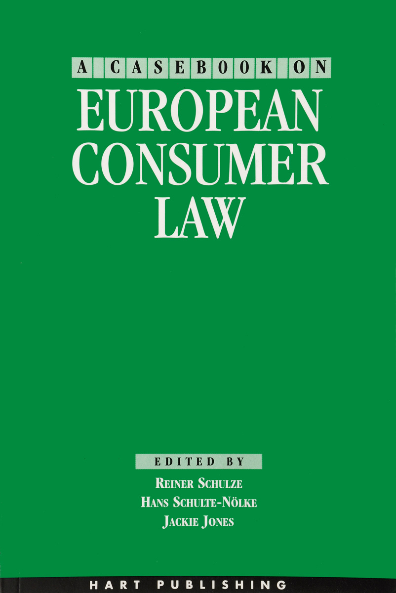 A Casebook on European Consumer Law серьги by song quartet 3022