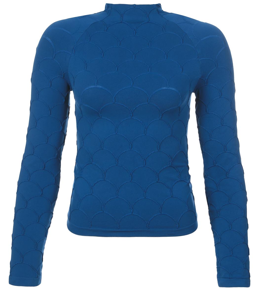 Водолазка женская Грация Fashion Onda, цвет: темно-бирюзовый. Размер 2 (42) водолазка женская pettli collection цвет черный 50063 размер 42 44