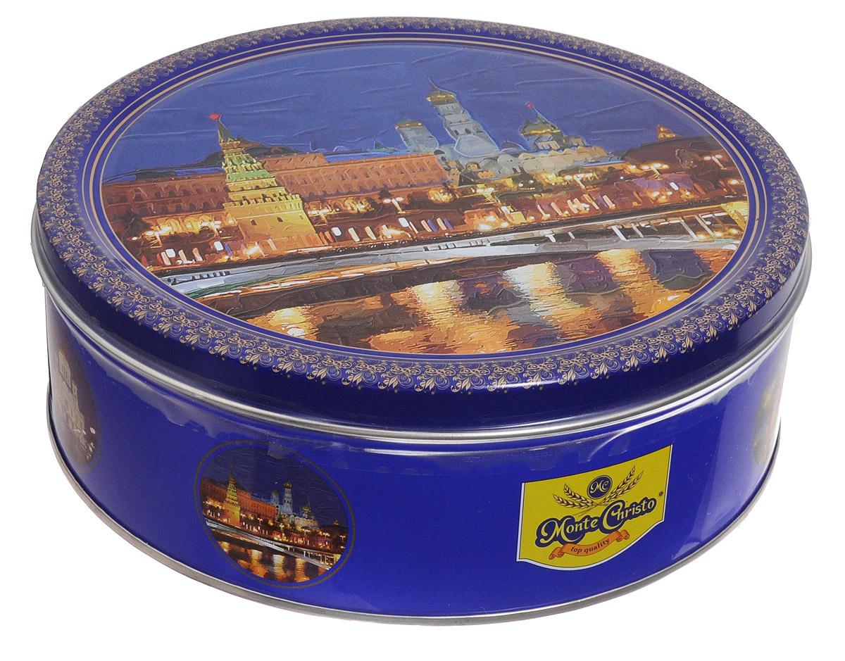 Monte Christo Вечерняя Москва печенье со сливочным маслом, 400 г майка monte
