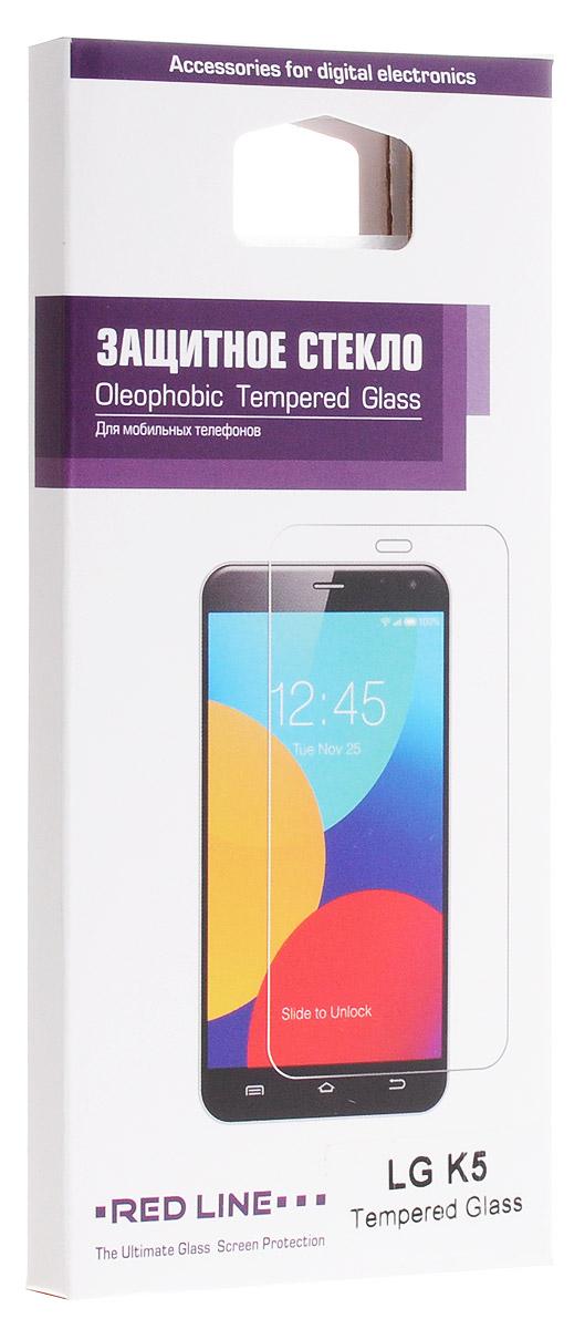 Red Line защитное стекло для LG K5УТ000008569Защитное стекло Red Line для LG K5 предназначено для защиты поверхности экрана от царапин, потертостей, отпечатков пальцев и прочих следов механического воздействия. Оно имеет окаймляющую загнутую мембрану, а также олеофобное покрытие. Изделие изготовлено из закаленного стекла высшей категории, с высокой чувствительностью и сцеплением с экраном.