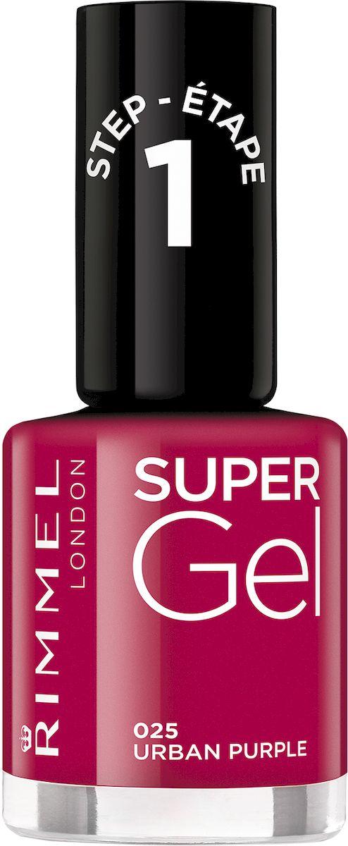 Rimmel Super Gel Nail polish Гель-лак для ногтей, тон 025 бордо, 12 мл31522Коллекция эксклюзивных оттенков от Кейт Мосс для еще более модного гелевого маникюра! STEP 10Как ухаживать за ногтями: советы эксперта. Статья OZON Гид