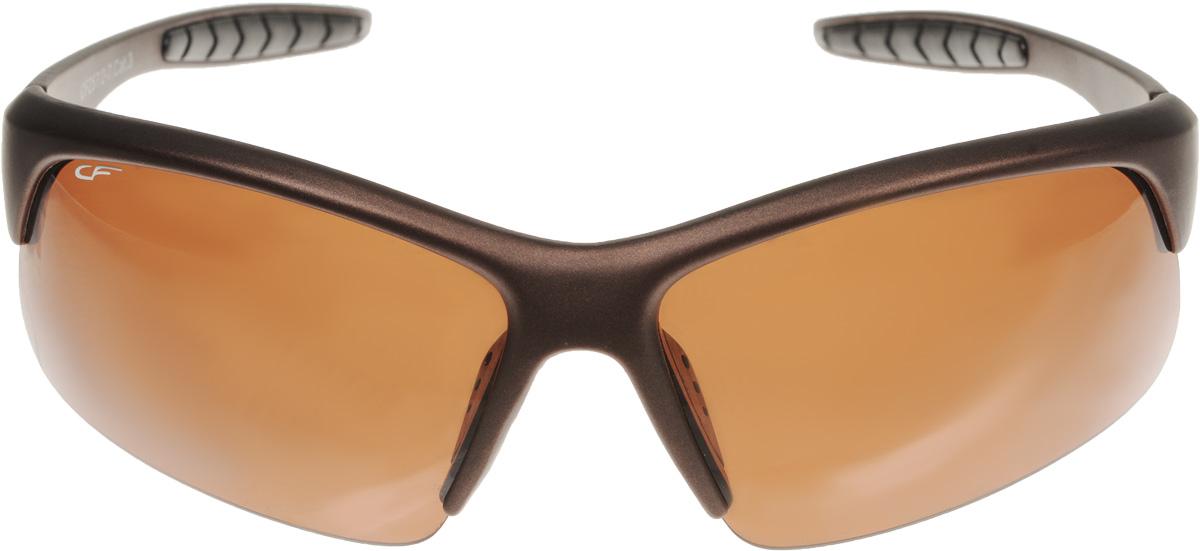 Очки поляризационные Cafa France, цвет: коричневый. CF257/2 очки поляризационные cafa france c12931