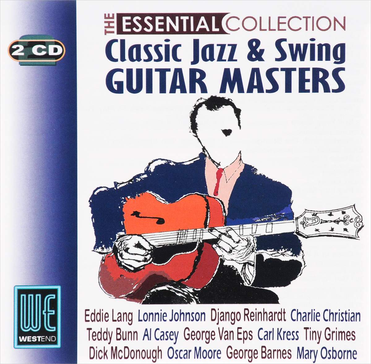 The Essential Collection. Classic Jazz and Swing Guitar Masters (2 CD) лопатка кулинарная marmiton цвет розовый бледно розовый длина 25 см