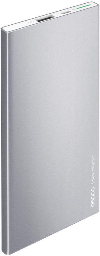 Deppa NRG Alum внешний аккумулятор (5000 мАч) nrg cafs 4450 купить в тольятти